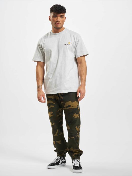 Carhartt WIP T-skjorter American Script grå