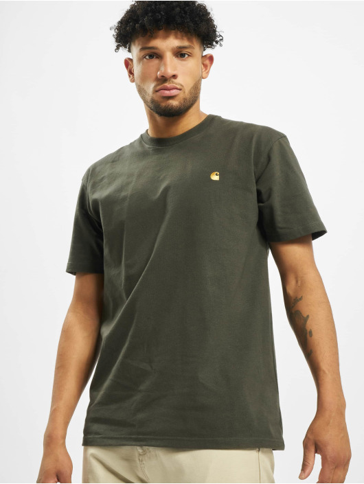 Carhartt WIP T-skjorter Chase grøn