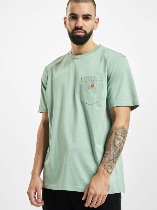 Carhartt WIP T-skjorter Pocket grøn