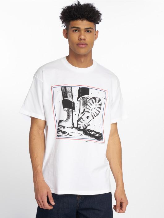 Carhartt WIP T-skjorter WIP Trojan Moonstomp hvit
