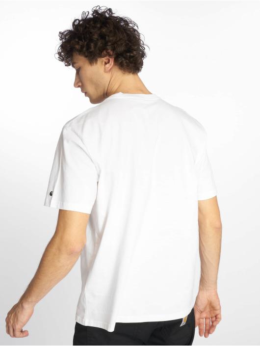 Carhartt WIP T-skjorter Base hvit
