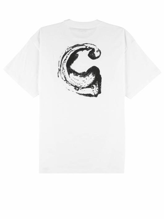 Carhartt WIP T-skjorter Foam C hvit