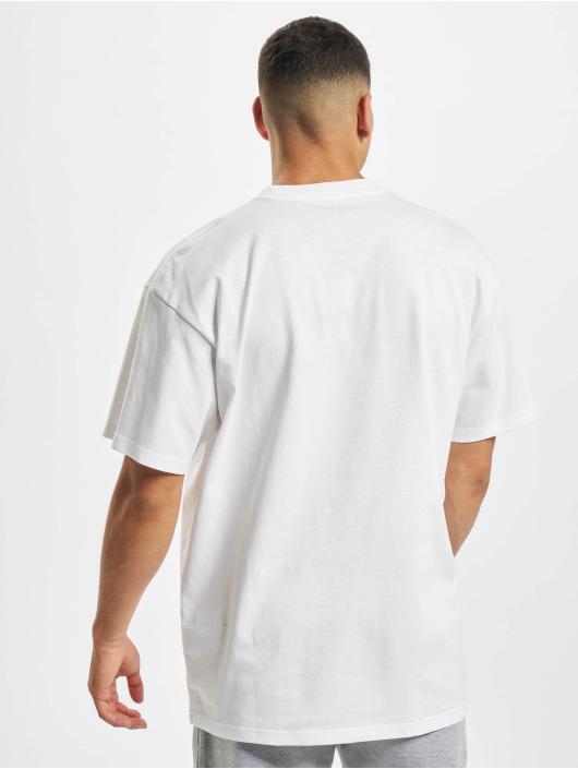 Carhartt WIP T-skjorter Commission Logo hvit