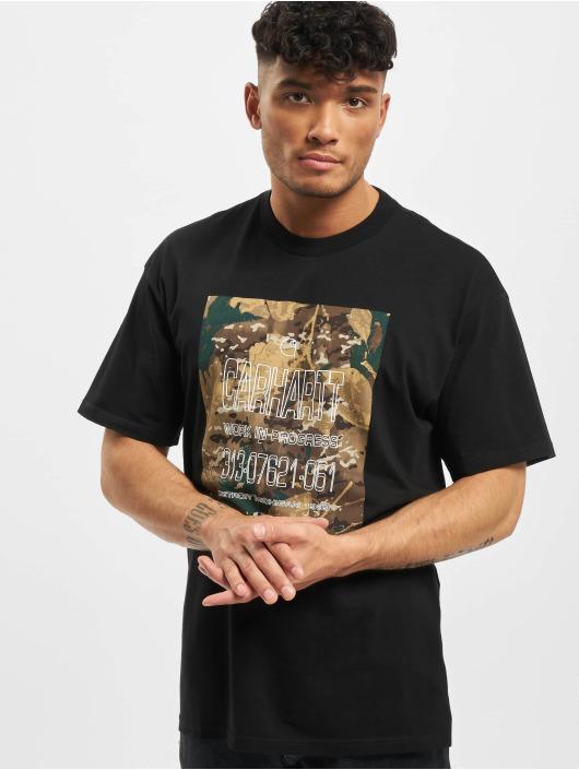 Carhartt WIP T-skjorter Camo Mil kamuflasje
