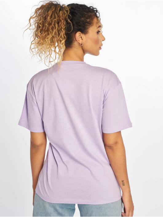 Carhartt WIP T-skjorter Script lilla