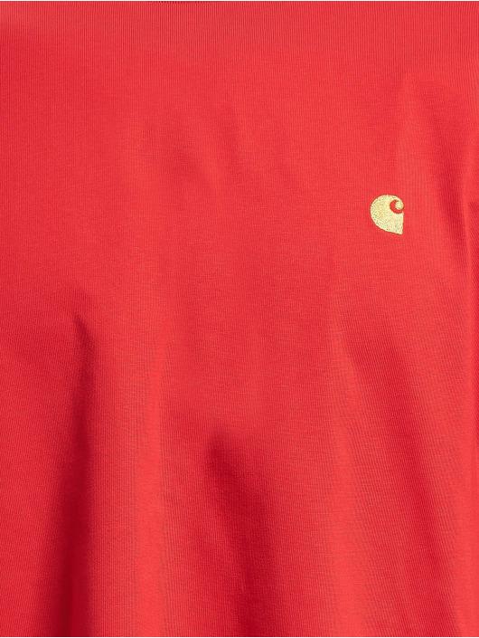 Carhartt WIP T-skjorter Chase red