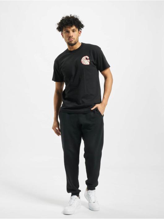 Carhartt WIP T-skjorter Time Is Up svart