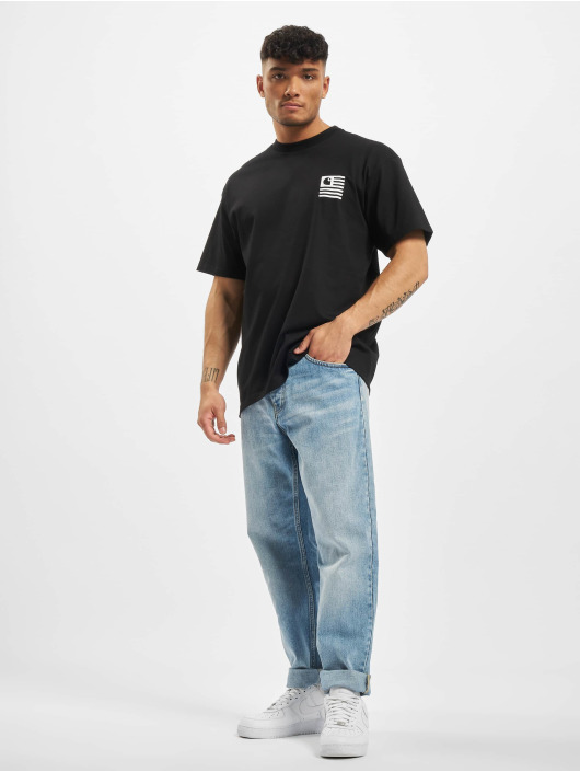 Carhartt WIP T-skjorter Waving svart
