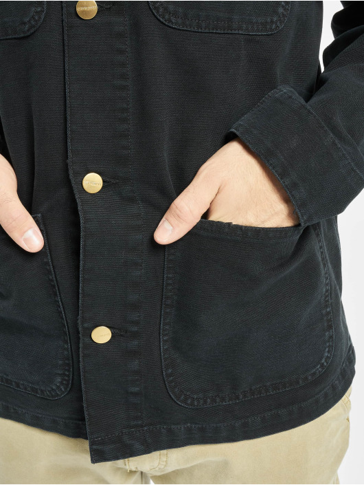 Carhartt WIP Transitional Jackets Michigan Coat svart