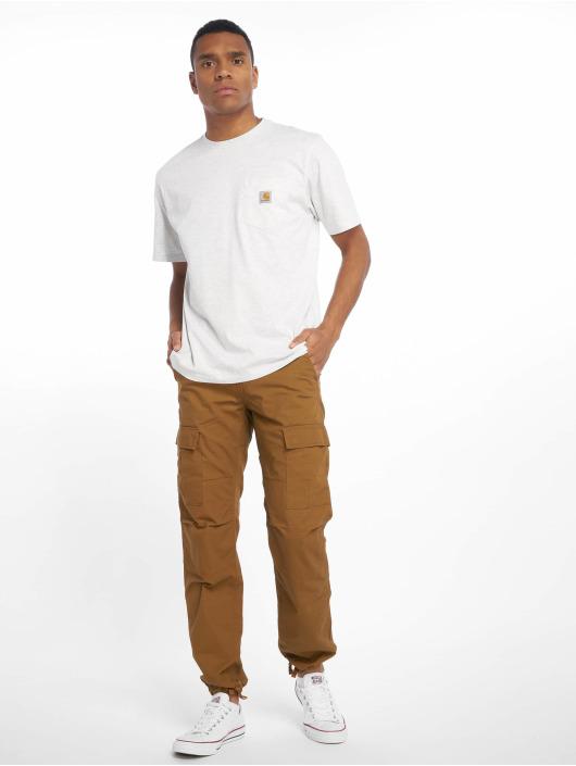 Carhartt WIP Tričká Pocket šedá
