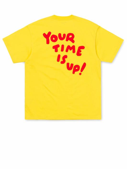 Carhartt WIP Tričká Time Is Up žltá