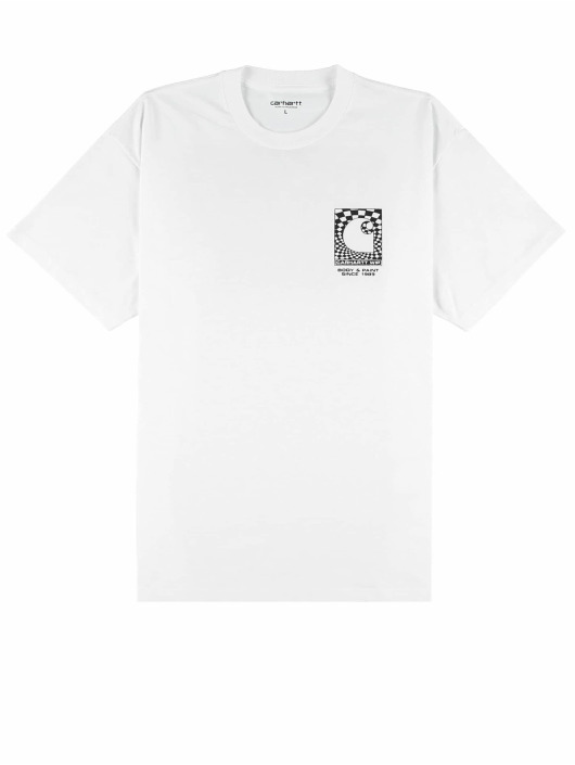 Carhartt WIP Tričká Body & Paint biela