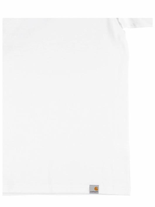 Carhartt WIP Tričká Foam C biela