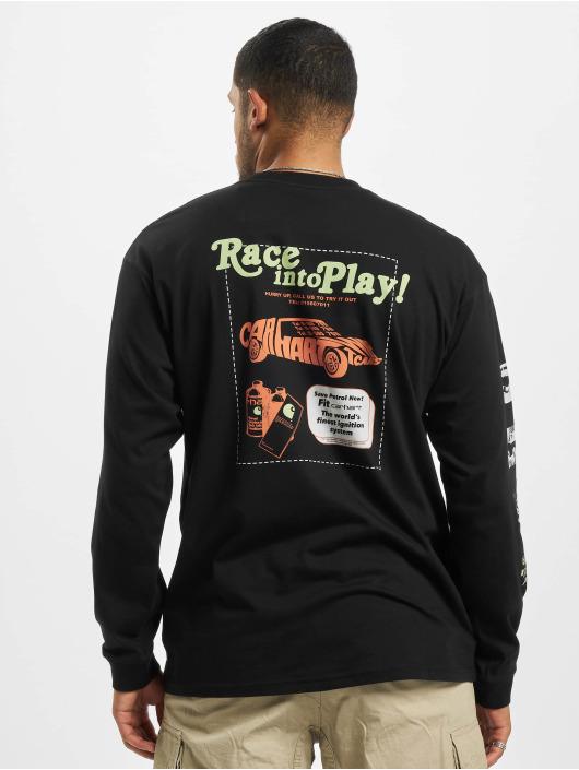 Carhartt WIP Tričká dlhý rukáv Carhartt Race Play èierna