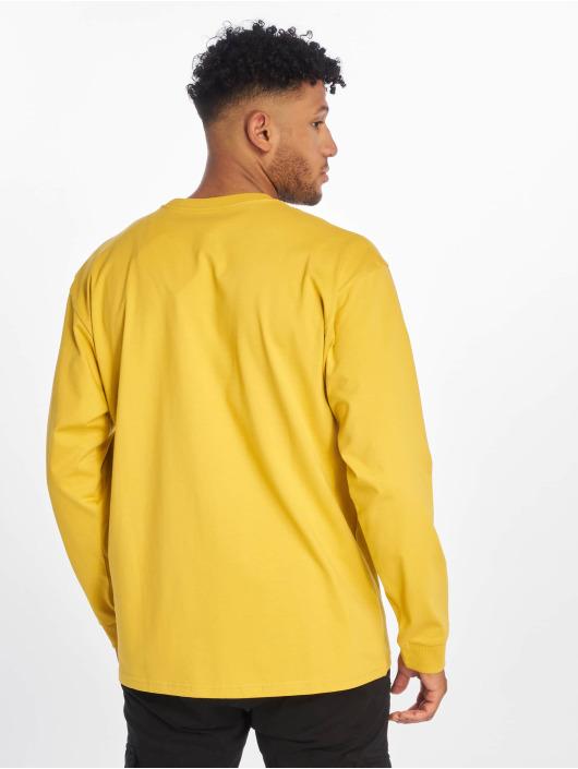 Carhartt WIP Tričká dlhý rukáv Chase žltá