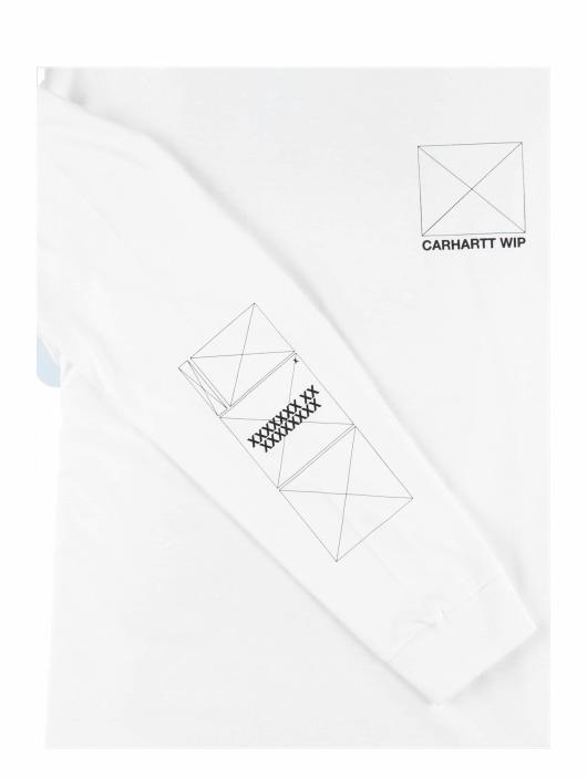 Carhartt WIP Tričká dlhý rukáv Dreaming biela