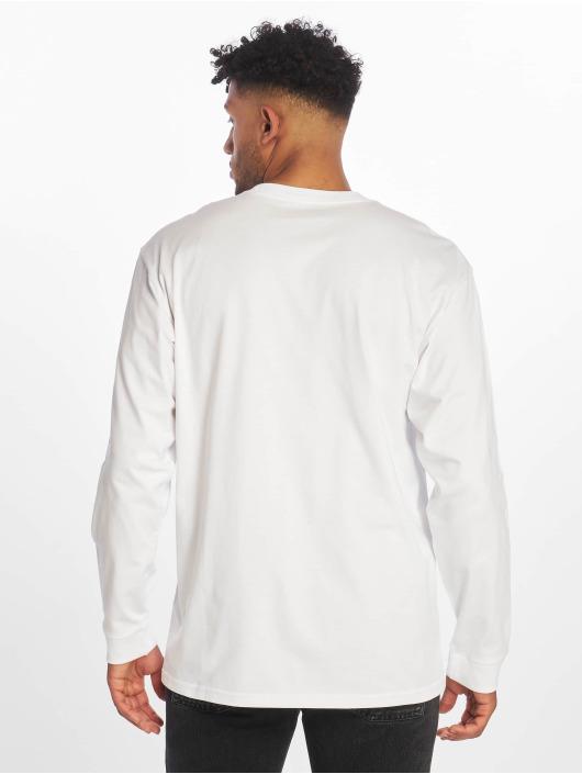 Carhartt WIP Tričká dlhý rukáv Chase biela
