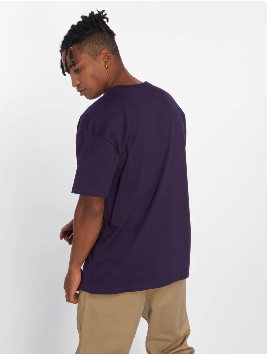 Carhartt WIP Tričká Chase fialová