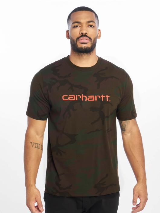 Carhartt WIP Tričká WIP Script maskáèová
