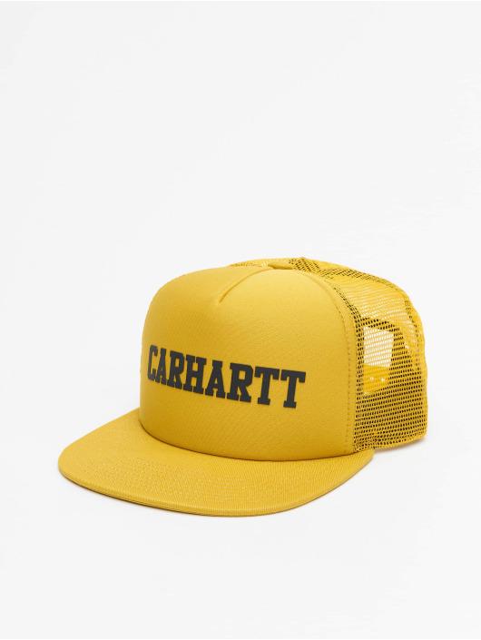 Carhartt WIP Trucker Cap College giallo