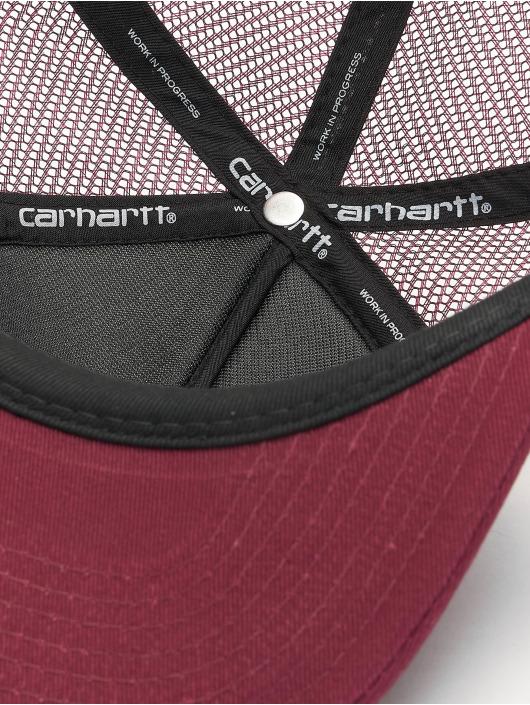 Carhartt WIP Trucker Cap College rosso