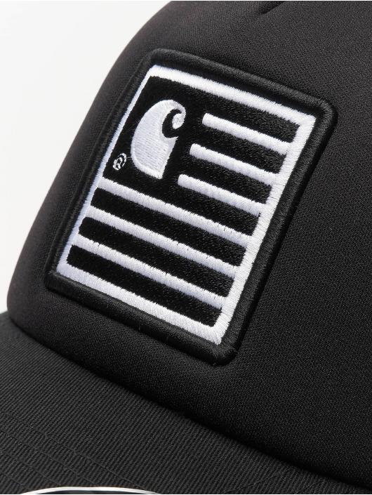 Carhartt WIP Trucker Caps State Patch czarny