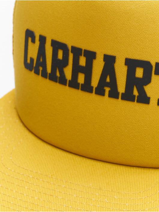 Carhartt WIP Truckerkeps College gul