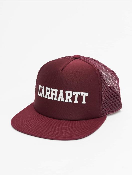 Carhartt WIP Truckerkeps College röd