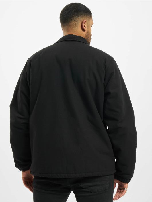 Carhartt WIP Übergangsjacke Canvas Coach schwarz