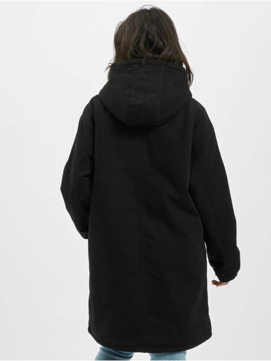 Carhartt WIP Välikausitakit Hooded Script musta
