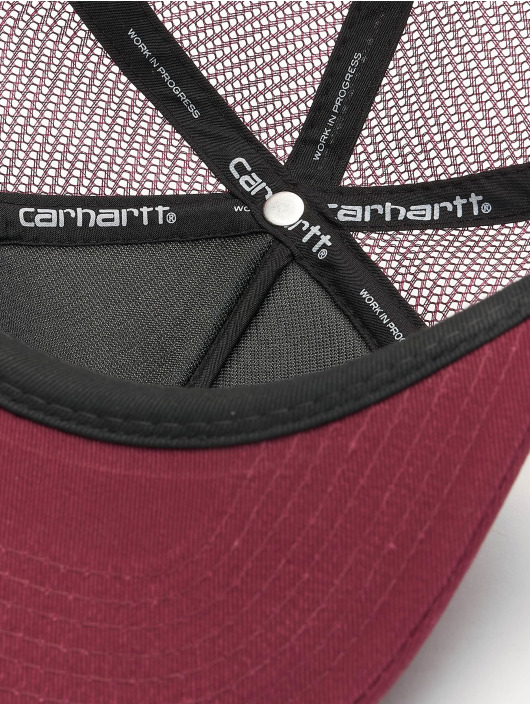 Carhartt WIP Verkkolippikset College punainen