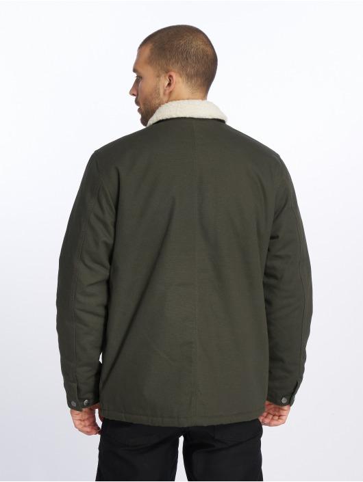 Carhartt WIP Winter Jacket Edgewood Fairmount olive