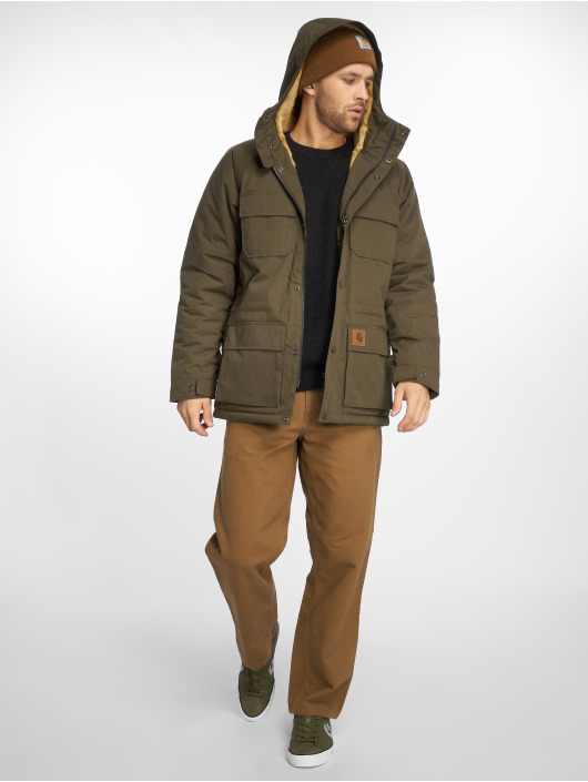 Carhartt WIP Winterjacke Mentley Transition olive