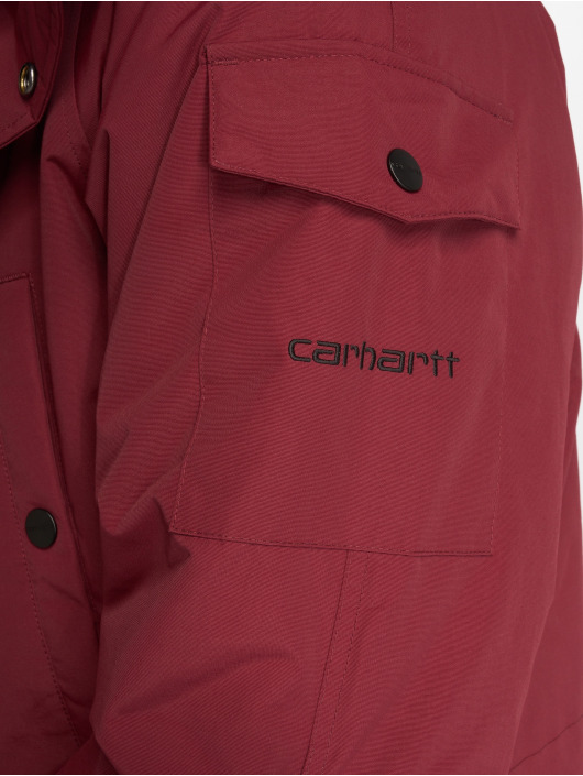 Carhartt WIP Winterjacke Anchorage rot
