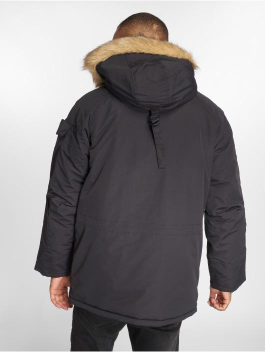 Carhartt WIP Winterjacke Anchorage schwarz