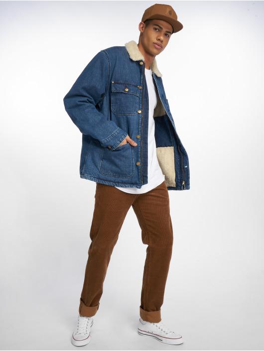 Carhartt WIP Zimné bundy Edgewood modrá