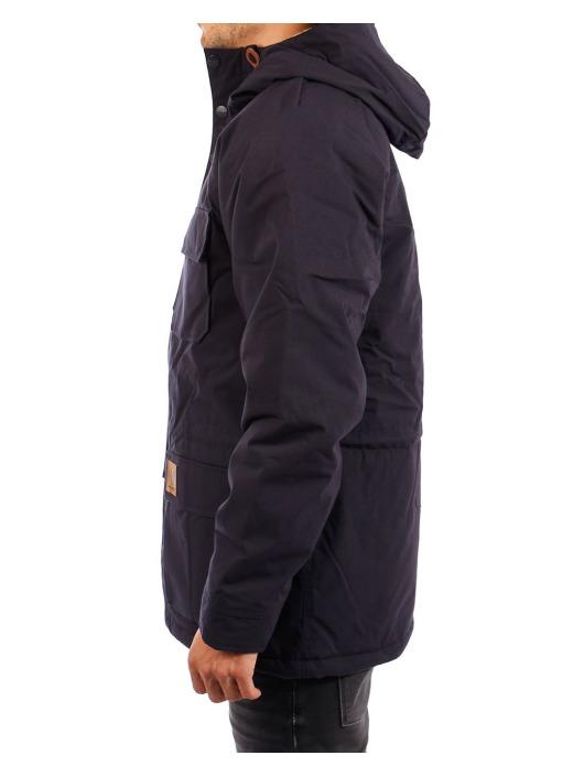 Carhartt WIP Zimné bundy Mentley modrá