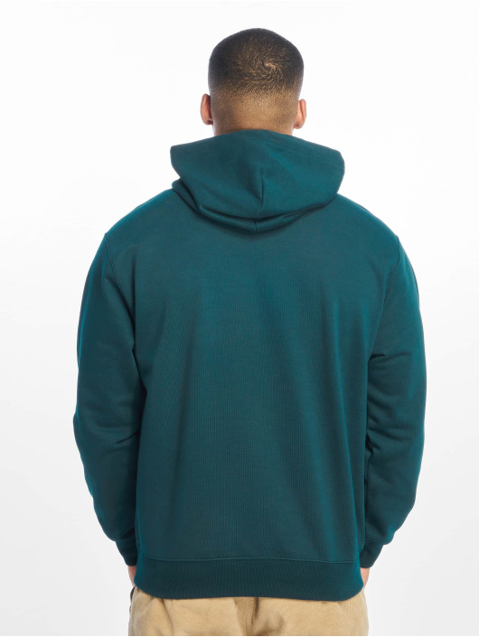 Carhartt WIP Zip Hoodie Label modrý