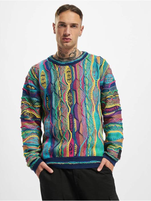 Carlo Colucci Пуловер Style синий