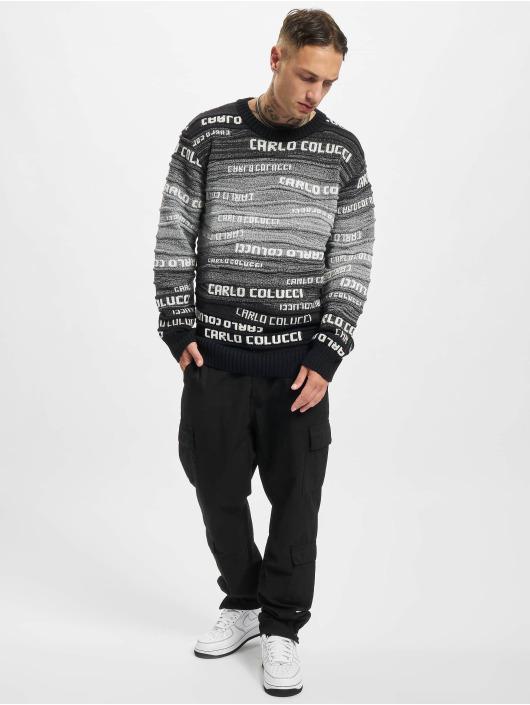 Carlo Colucci Пуловер Logo черный