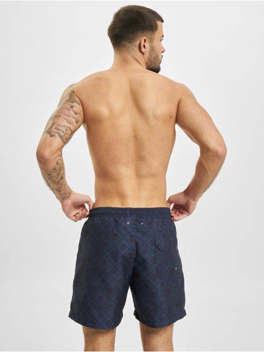 Carlo Colucci Badeshorts Swim blau