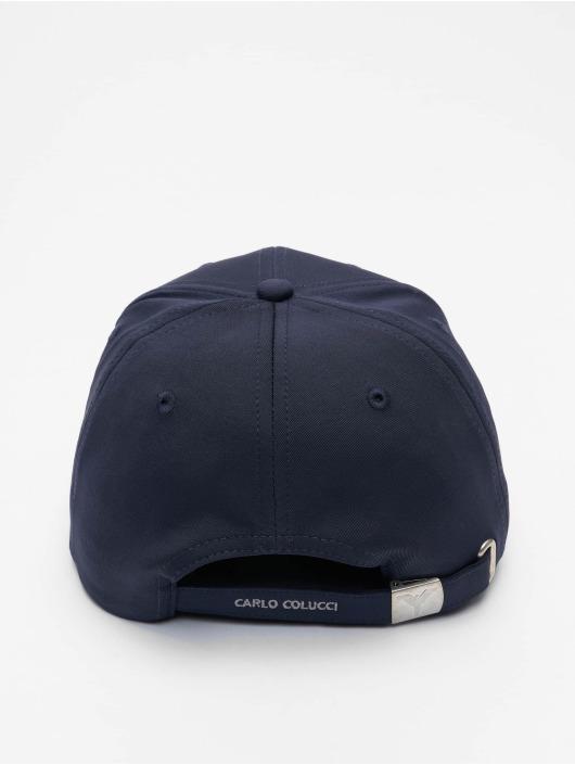 Carlo Colucci Snapback Cap Classic blau