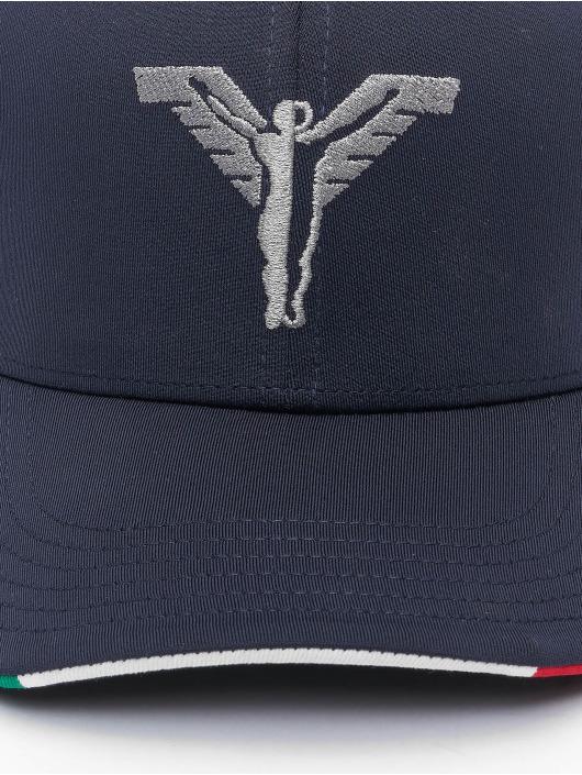 Carlo Colucci Snapback Caps Classic sininen