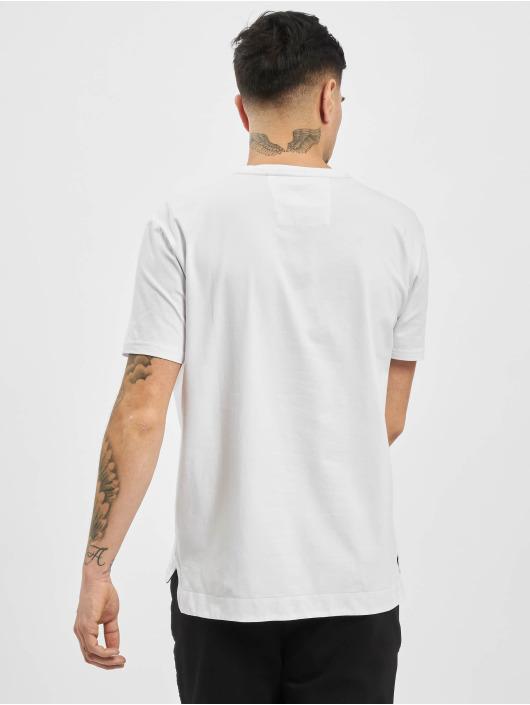 Carlo Colucci T-Shirt Logo blanc