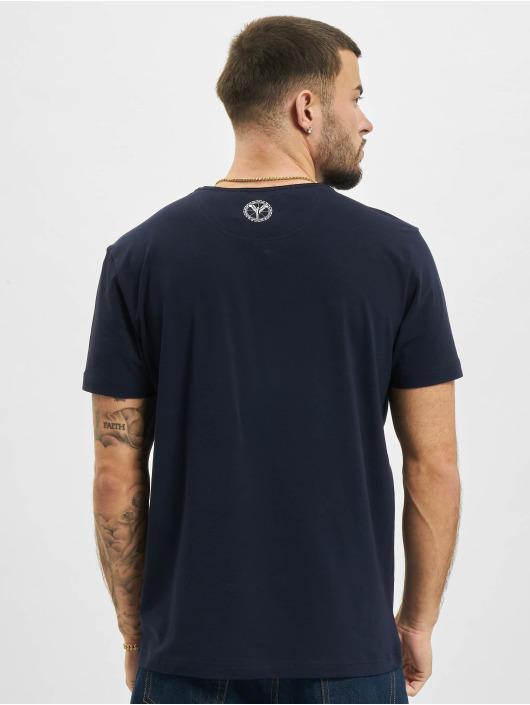 Carlo Colucci t-shirt Pocket blauw