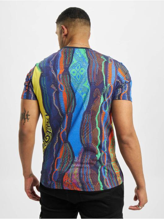 Carlo Colucci T-Shirt Retro II blue