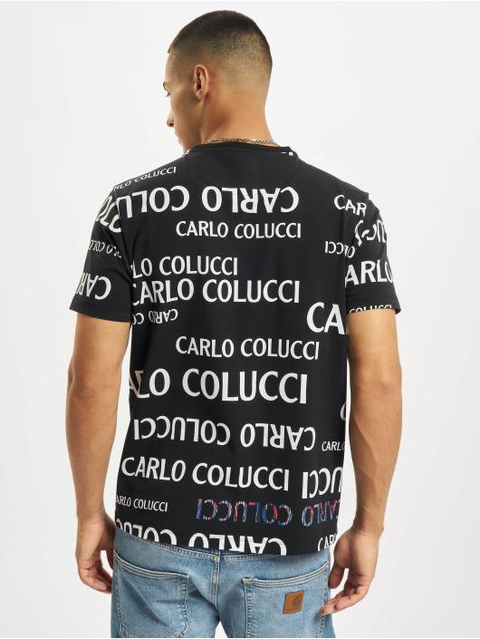 Carlo Colucci T-shirt Lettering svart