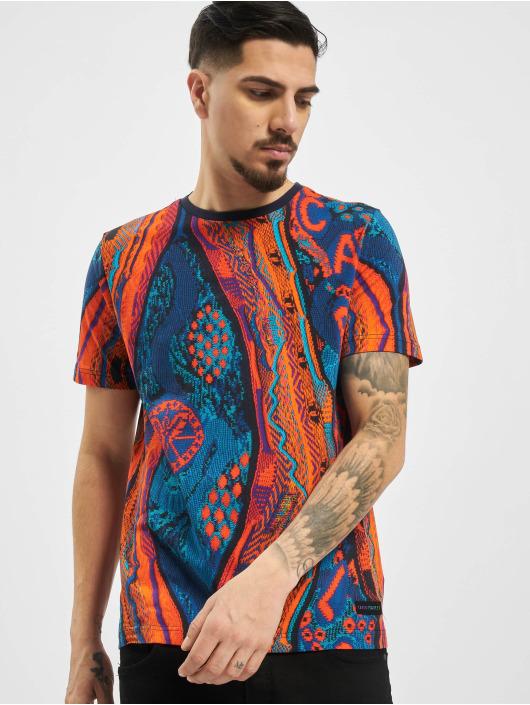 Carlo Colucci T-shirts Retro II blå