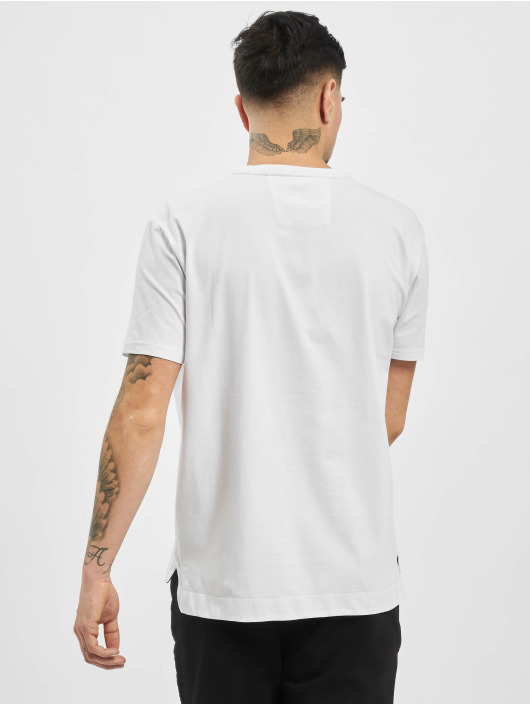 Carlo Colucci T-Shirty Logo bialy