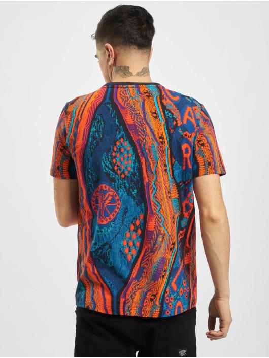 Carlo Colucci T-Shirty Retro II niebieski